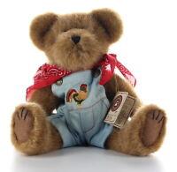 Boyds Bears Plush w/ Cert Jeb MacDonald Style 912662 TJs Best Dressed Collection