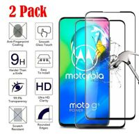 Motorola Moto G Stylus/G Power 2020 FULL COVER Tempered Glass Screen Protector