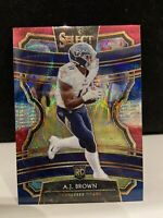 🔥2019 Select AJ Brown Rookie Card RC Tri Color Red White Blue Prizm SP /199