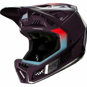 Fox Mountain Bike Mtb Cycling Rampage Pro Full Face Helmet Daiz [Dark Purple] L