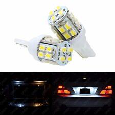 2 x T10 Xenon White 20 SMD LED 168 194 2825 License Plate Light For Honda CR-V