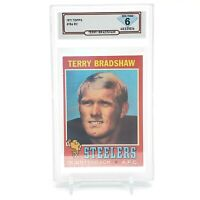 1971 Topps TERRY BRADSHAW RC Rookie 💎 DSG 6