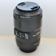 Nikon AF FX Sigma EX 105 mm F/2.8 HSM DG EX OS; Top Zustand