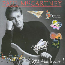 PAUL McCARTNEY All the Best CD Live & Let Die, Silly Love Songs, My Love, Jet