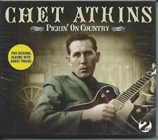Chet Atkins - Pickin' on Country - Two Original Albums 2CD 2008 NEW/SEALED