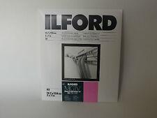 Ilford mgiv RC DELUXE 5x7 LUCIDA 25 camera oscura carta