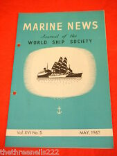 MARINE NEWS - MAY 1962 VOL XVl # 5