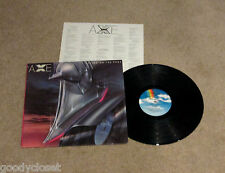 ROCK AXE LIVING ON THE EDGE KENDUN MASTER LP RECORD EXCELLENT **