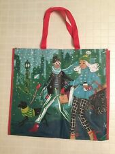 NEW TJ Maxx Large Christmas Holiday Shopping Tote Bag Reusable Eco Friendly