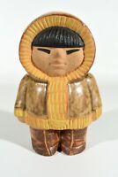 Lisa Larson Sweden Gustavsberg Eskimo Ceramics Figure° Signed Ceramic Figure