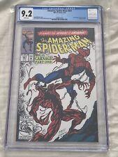 Amazing Spider-Man #361 CGC 9.2 🔥1st Carnage Venom 2 Movie Stan Lee Avengers