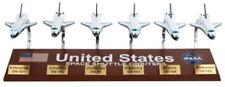 E5520 Executive Display Models Nasa Space Shuttle Set of Six Models