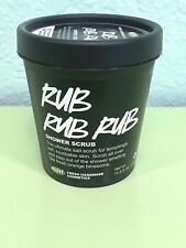 Lush Cosmetics Rare Rub Rub Rub Shower Scrub 11.5 Oz Never Used Smells Fresh!