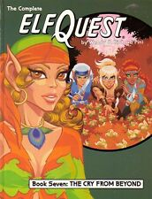 "ELFQUEST Graphic Novel vol 7 ""Cry From Beyond"" HC 1990s  scarce SIGNED!"