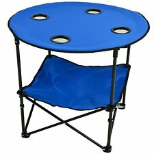 Picnic at Ascot Travel Folding Table For Picnics And Tailgating, Royal Blue