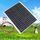 50W 20W 10W 12V Car Camping Cell Solar Panel Battery Charger Bank Caravan