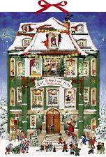 Coppenrath Musical Advent Calendar 24 Christmas Tunes 38cm x 52cm glitter ribbon