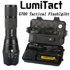 8000lm Genuine Lumitact G700 LED Tactical Flashlight Military Grade Torch X800