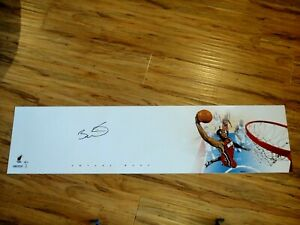 DWYANE WADE SIGNED 4X1 FOOT LARGE PHOTOGRAPH BECKETT (BAS) CERTIFIED AUTOGRAPHED