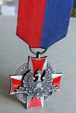 Poland Polish Silver Cross of Merit For Life Saving And Protection Of Meaning