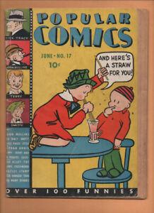 Popular Comics #17 Dell Comics 1937 FA