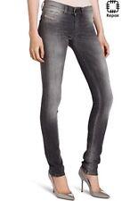 Diesel Livier Ladies Jeans Pants Slim Jegging Grey Wash 31Inch Waist Super Slim