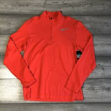 NIKE GOLF DRI-FIT KNIT 1/4 ZIP SIREN RED SIZE EXTRA LARGE 833280-653