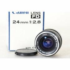 Canon FD 2,8/24 S.C. - FD 24mm 1:2.8 Wide Angle Lens - Weitwinkelobjektiv