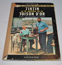 TINTIN: Mystere de la Toison d'Or BD French Comic Book HERGE Casterman 1960s