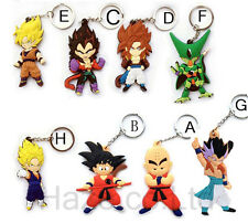 Hot Animation Dragon Ball Double Side Keychain Keyring 1pcs Lovely Decor