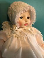 "Madame Alexander Original Vintage 1966  VICTORIA 18"" Crier Baby Doll"