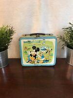 Vintage 1980 Walt Disney Wonderful World Lunch Box