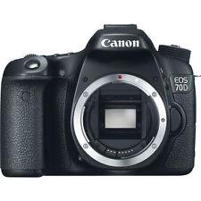 Summer Splash Verkauf BRANDNEU Canon EOS 70D DSLR Kamera 20.2 MP Body OVP