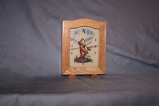 Classic Winnie the Pooh Wooden Clock Disney Eeyore Tigger Piglet