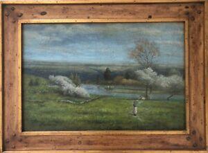 Original Trevor James Oil on Canvas Painting