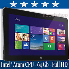 Dell Venue 11 Pro - 5130 1,6 - 2,4 GHZ 2 GB di RAM 64GB FULL HD WIN 10 1 ANNO warrty