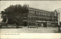 David City NE Perkins Hotel c1910 Postcard