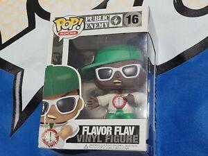 Funko Pop!  Rocks Flavor Flav # 16 Vaulted