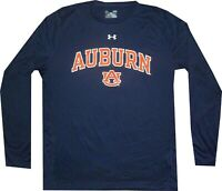 Under Armour Auburn Tigers NuTech LOOSE FIT Long Sleeve Shirt Mens Closeout $35