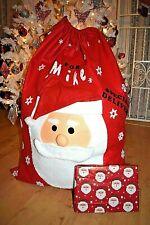 Extra Large Santa Sack XL Christmas Presents Bag  Personalised Super Size