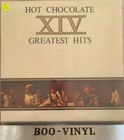 HOT CHOCOLATE XIV GREATEST HITS. UK RAK VINYL LP. VG CON +