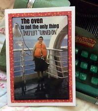 Funny Vacation Cruise Greeting Card Adult Humor OOAK Handmade Trip FREE SHIPPING