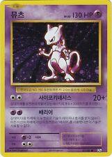 Pokemon, mewtu/Mewtwo, Holo, 20th Anniversary, 51/100, Korean/coreano, nm