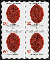 938 postfrisch 4 er Block BRD Bund Deutschland Briefmarke Jahrgang 1977