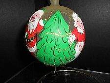 VINTAGE HAND PAINTED GLASS ORNAMENT***LORD & TAYLOR