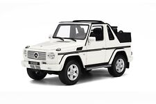Mercedes-Benz G500 V8 AMG G-Class Open Top Cabriolet White Otto Mobile OT275