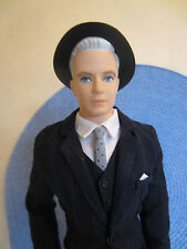 Mad Men Silkstone Ken Allan Roger Sterling Business Suit Fashion Doll