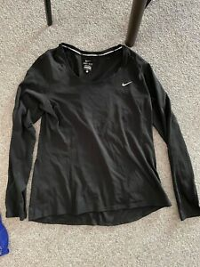 Nike Miler Long Sleeve Top (Women's) - Size Large