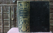 Antique Rare Old Book Remarkable Events History Of America Vol 1 1850 Scarce