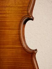 Violin full size (4/4), striped maple carved back, old, geige, violon.
